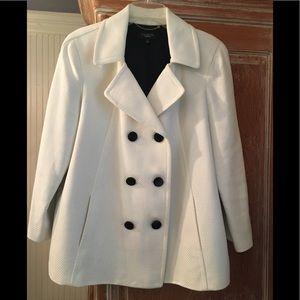 Talbots Winter White Coat